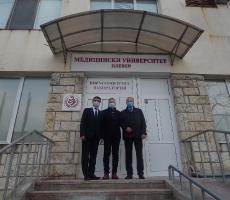 Медицински университет – Плевен благодари на дарителите на новата Вирусологична Лаборатория за изследване на COVID-19